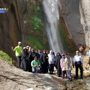 بزرگترین آبشار مازندران با ارتفاع 51 متر