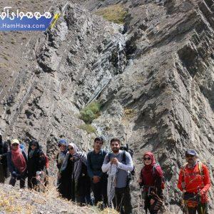 یکی از مسیرهای کوهنوردی ارتفاعات شمال تهران میباشد