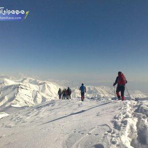 قله ریزان با ارتفاع ۳۵۸۰ متر در البرز مرکزی و در منطقه افجه لواسانات قرا