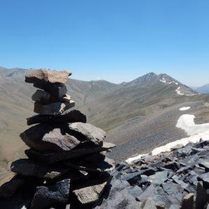 قلهٔ سرکچال ۱ (۴۲۱۰ متر)، همراه با قلههای فرعی سرکچال ۲ (۴۱۵۲ متر) و سرکچال ۳ (۴۱۲۴ متر)، بر روی یک خط الرأس شرقی - غربی، در شمال شمشک و همچنین روستای روته قرار گرفتهاست