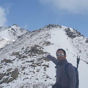 مسیر در نظر گرفته شده در این برنامه از روستای لواسان بزرگ به سمت یال گردنه نارده و سپس صعود به قله فیل زمین از یال جنوبی قله میباشد.